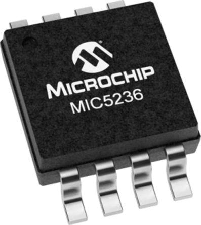 Microchip MIC5236-3.3YM, LDO Regulator, 150mA, 3.3 V, ±2% 8-Pin, SOIC (95)