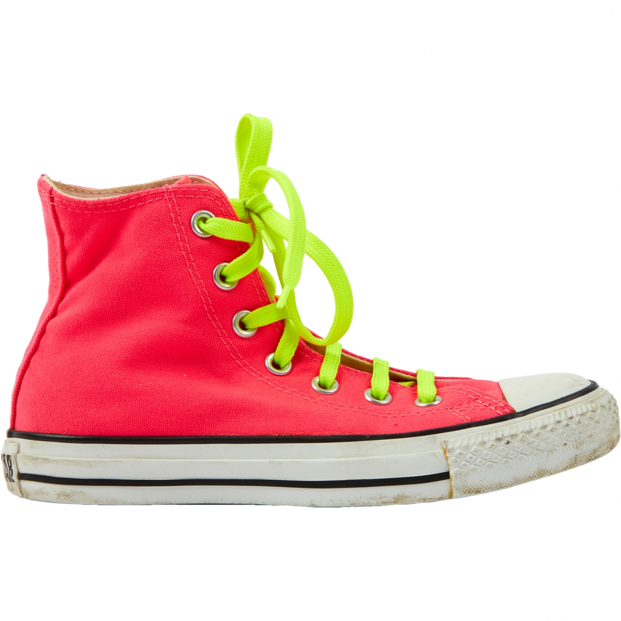 Converse \N Pink Cloth Trainers for Women 4 US