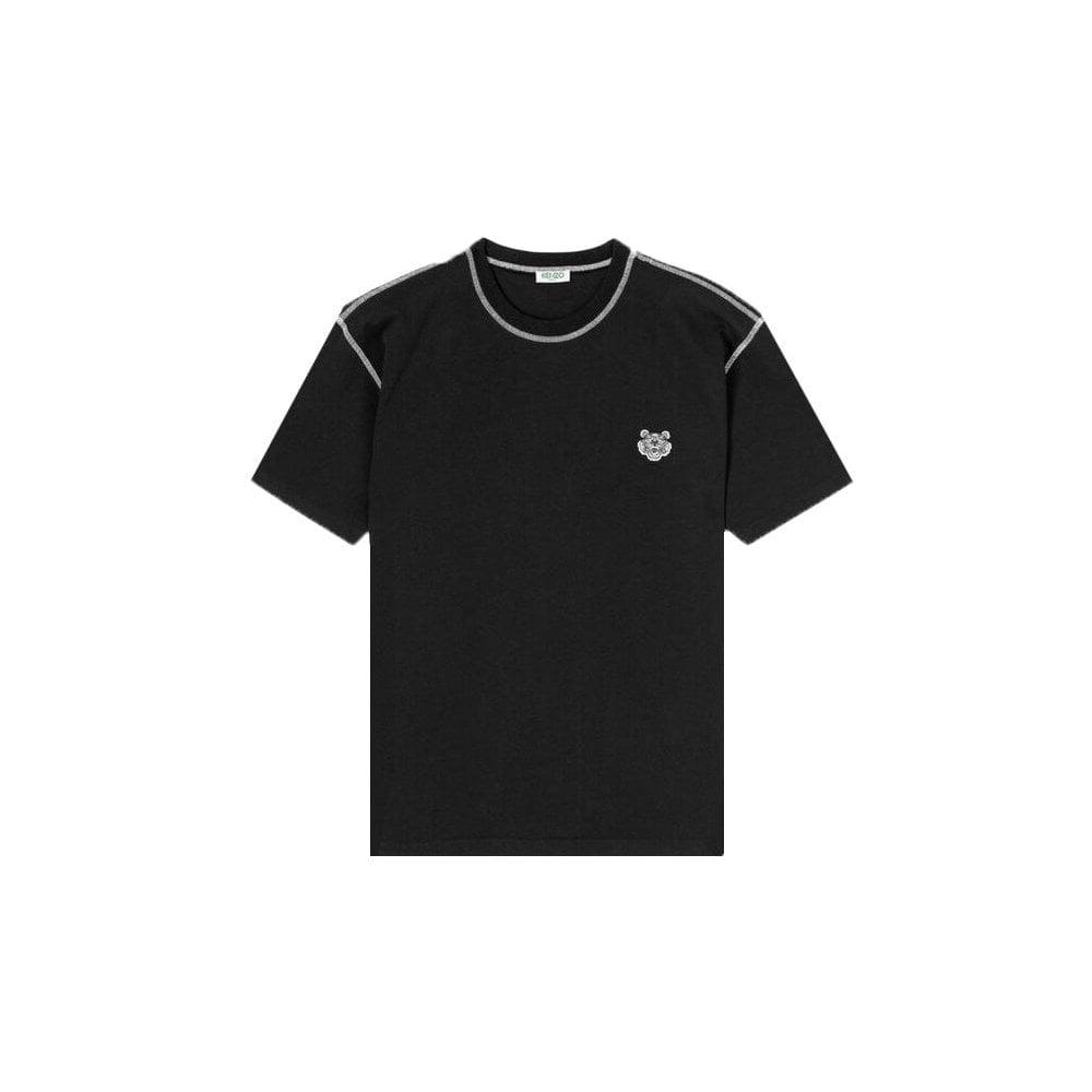 Kenzo Tiger T-shirt Colour: BLACK, Size: LARGE