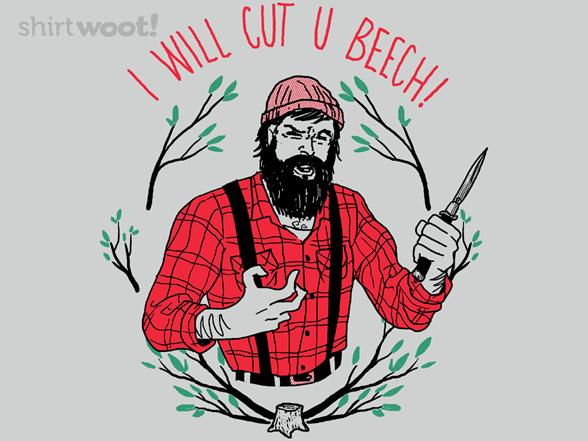 Cut U Beech T Shirt