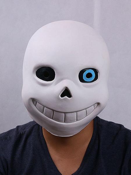 Milanoo Undertale Sans Papyrus Head Latex Halloween Cosplay Props Halloween