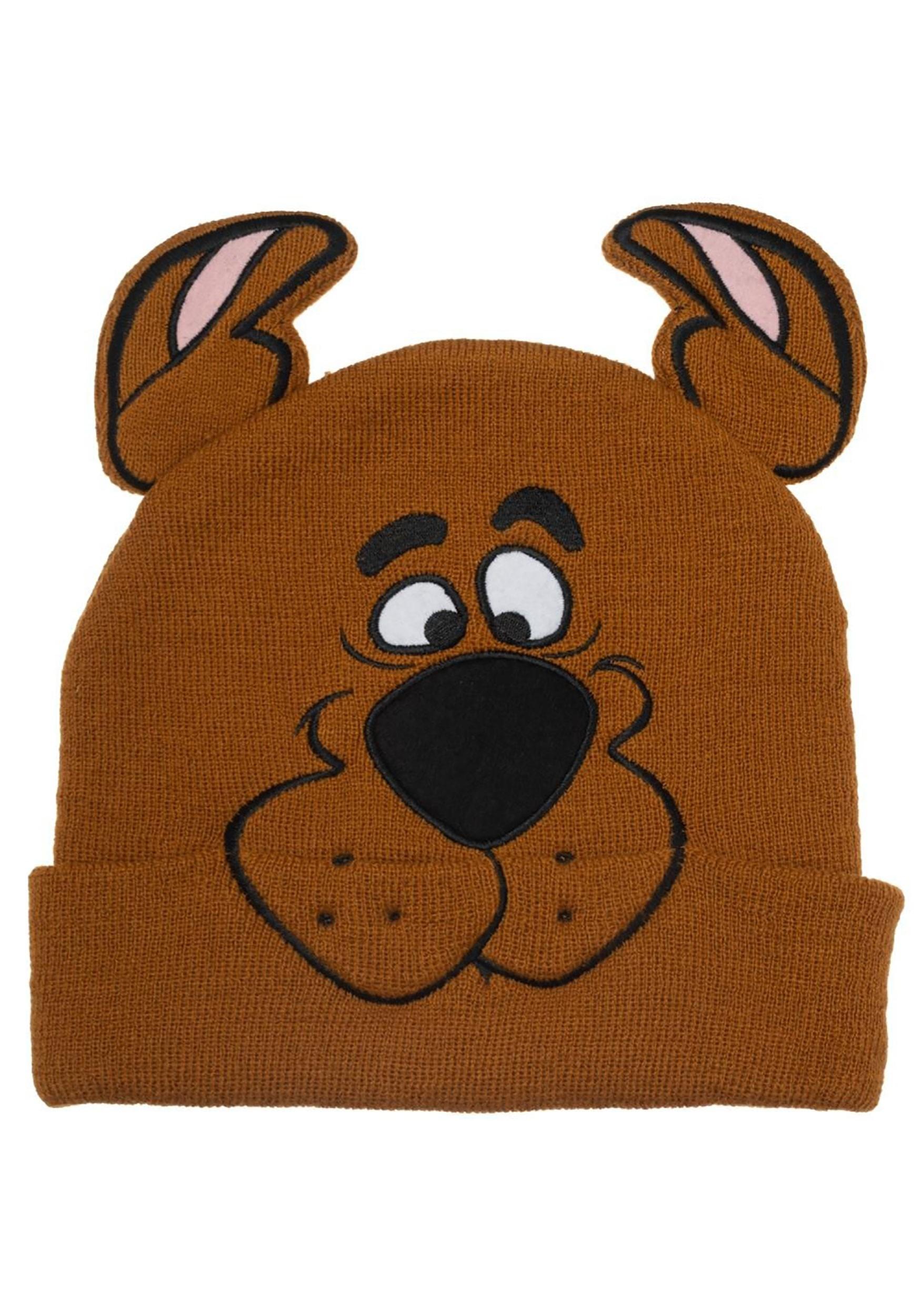Big Face Scooby Doo 3D Ear Beanie