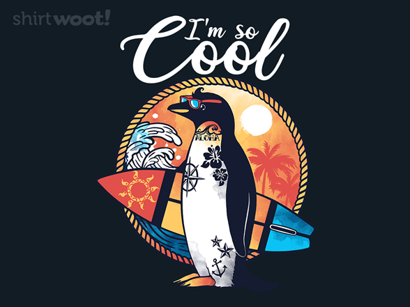 Cool Penguin T Shirt