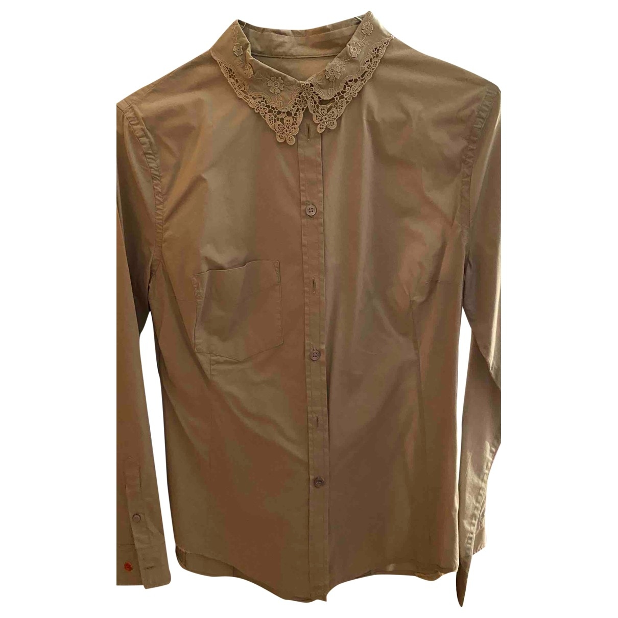 Paul Smith \N Beige Cotton  top for Women 36 FR