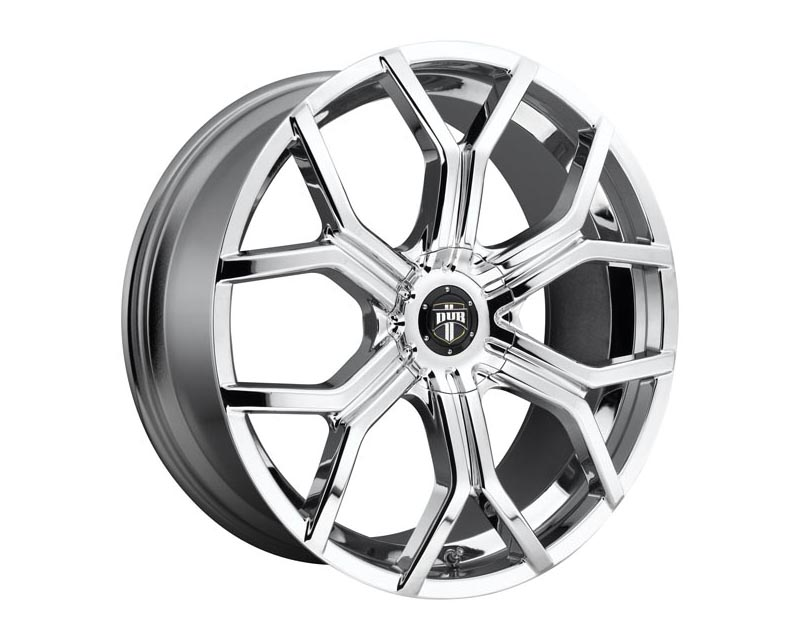 DUB S207 Royalty Wheel 22x9.5 BLANK 38mm Chrome Plated