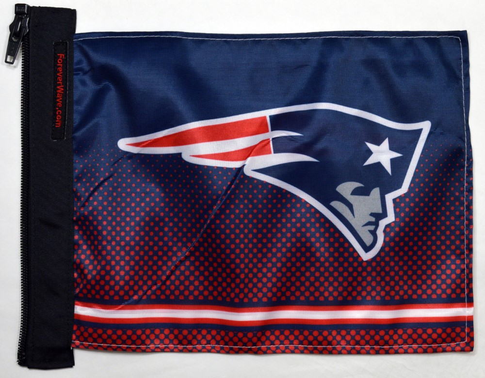 Forever Wave 5085 New England Patriots Flag