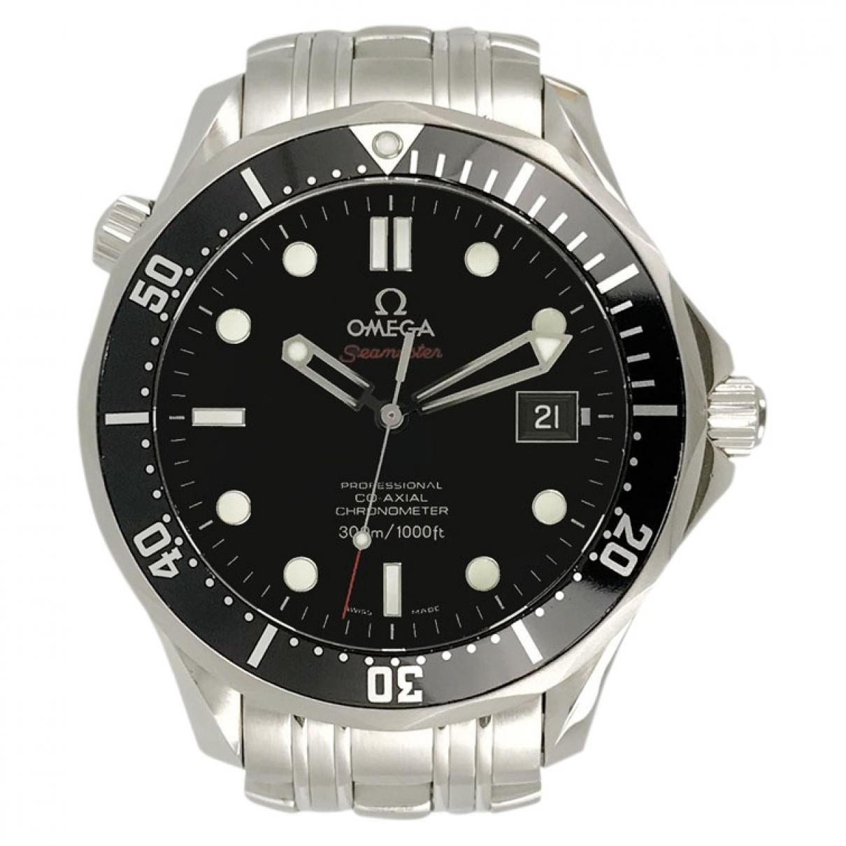 Omega Seamaster 300 Black Steel watch for Men \N