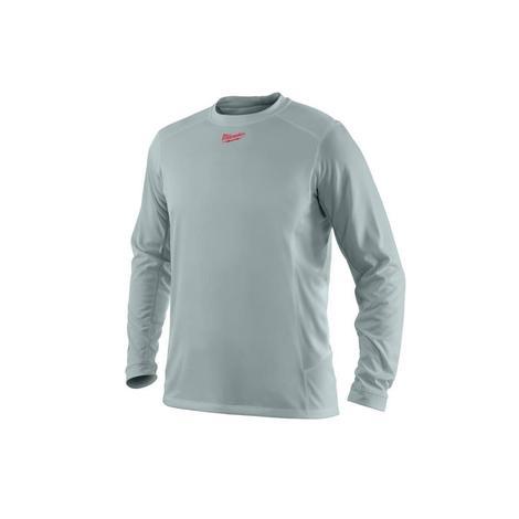 Milwaukee WorkSkin™ Light Weight Performance Long Sleeve Shirt - Gray