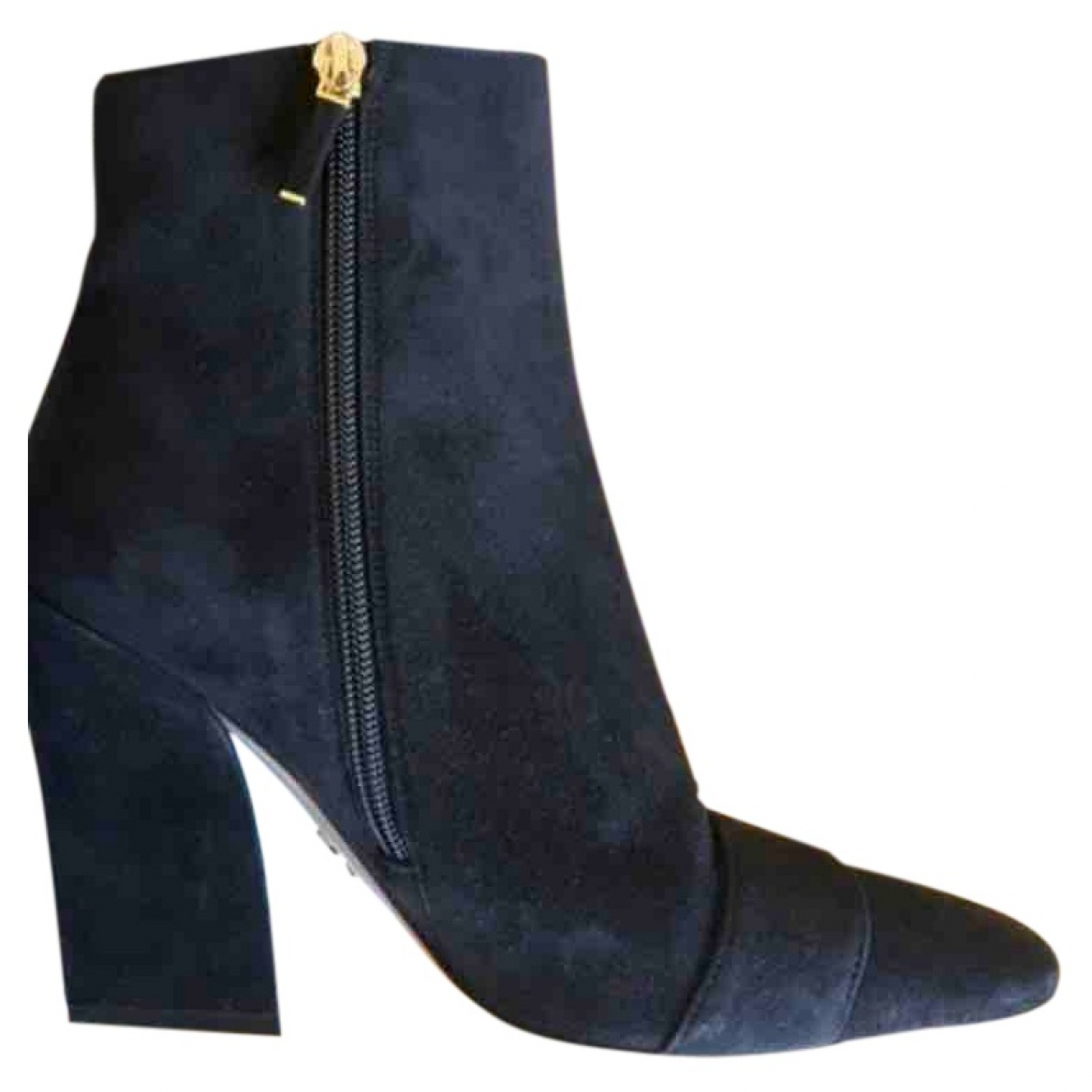 Dior \N Black Suede Ankle boots for Women 37 EU