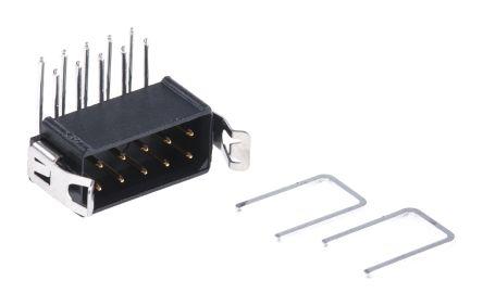 HARWIN , Datamate L-Tek, 10 Way, 2 Row, Right Angle PCB Header