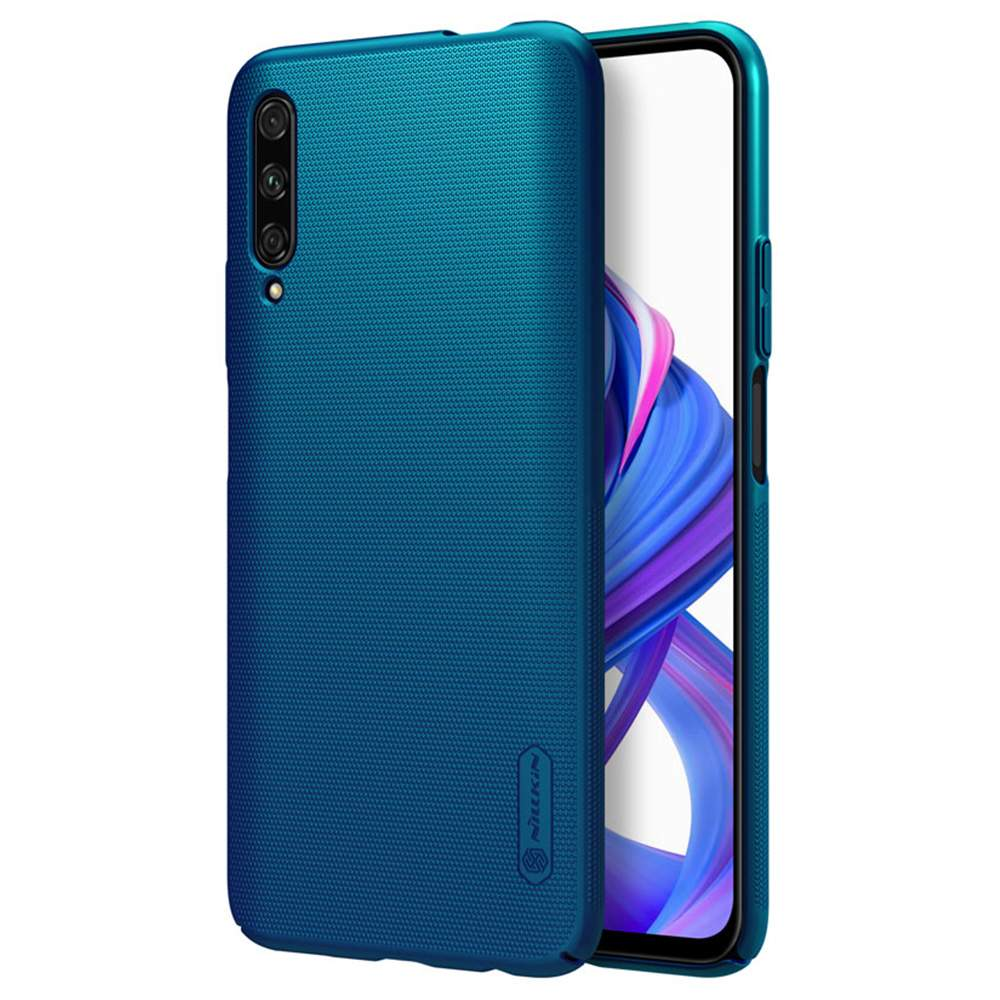 NILLKIN Protective Frosted PC Phone Case For HUAWEI Honor 9X Pro Smartphone - Blue