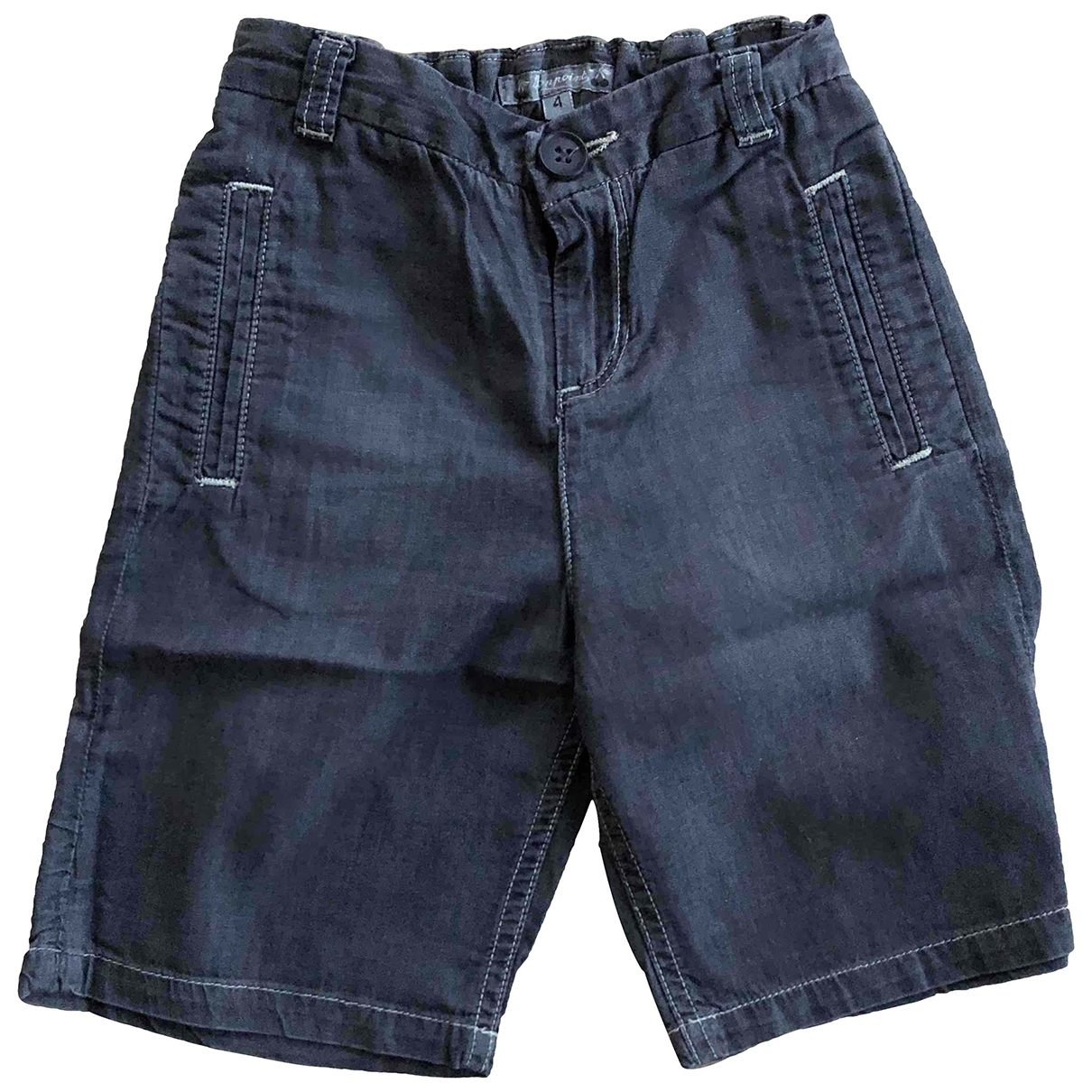 Bonpoint \N Black Cotton Shorts for Kids 4 years - up to 102cm FR