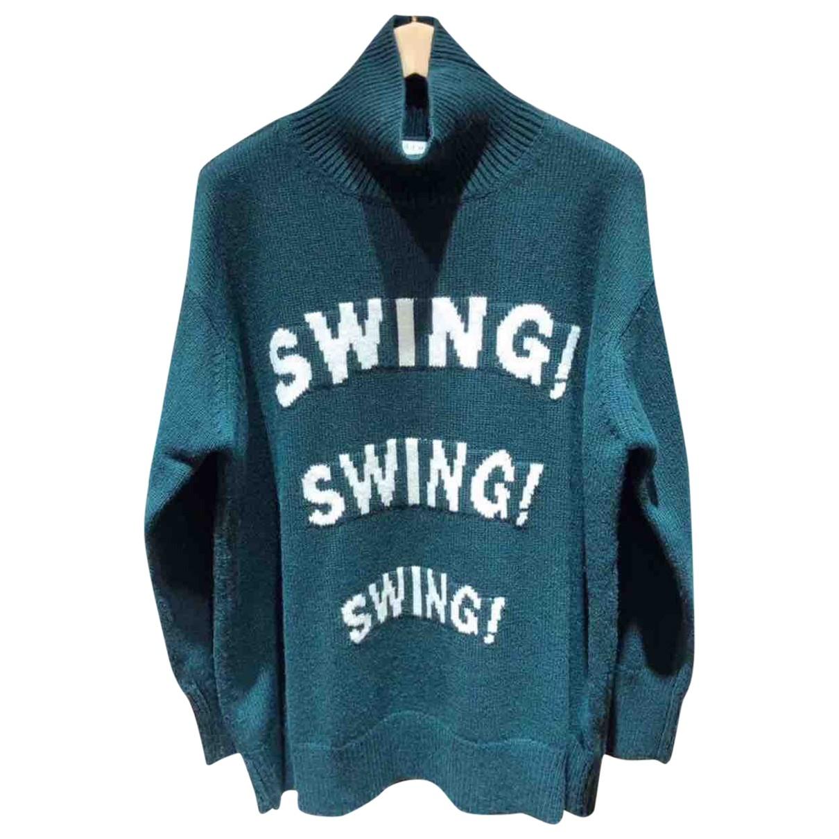 Sandro Fall Winter 2019 Green Wool Knitwear for Women 1 0-5