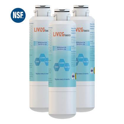 Filtre a eau de remplacement pour samsung DA29-00020B - LIVINGbasics™ - 3/paquet