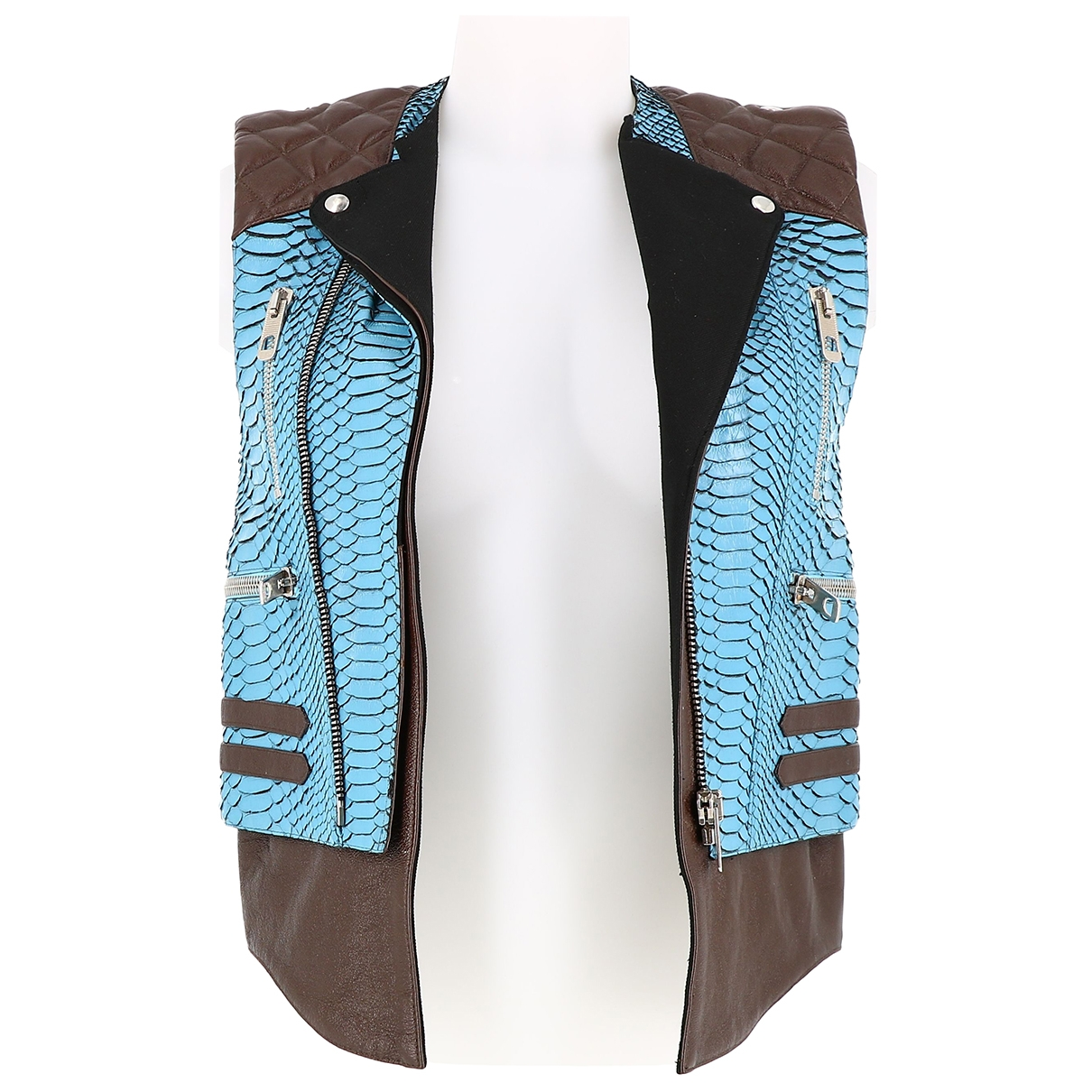Balenciaga \N Multicolour Python jacket for Women 36 FR