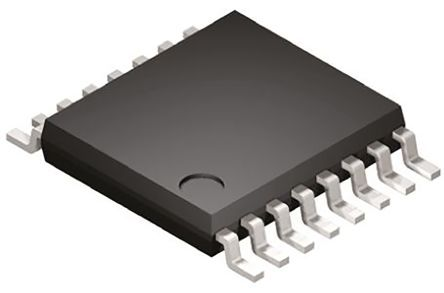 STMicroelectronics STPIC6C595TTR 8-stage Shift Register, Serial to Serial/Parallel, , Uni-Directional, 16-Pin TSSOP (5)