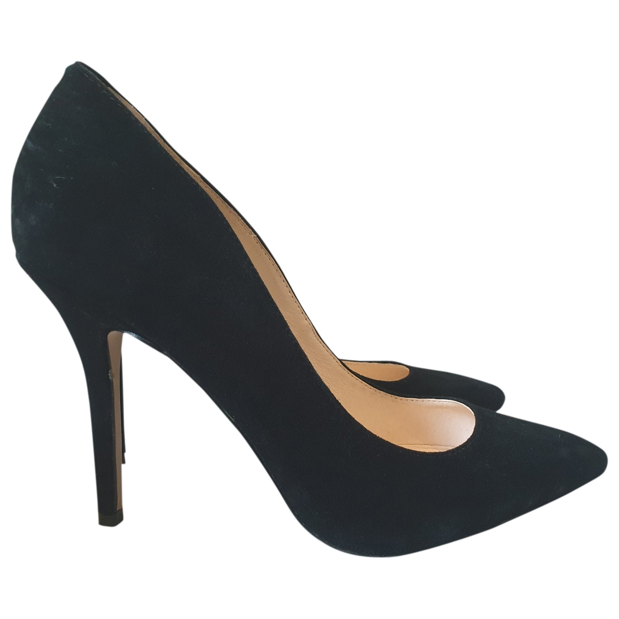 Buffalo \N Black Leather Heels for Women 39 EU