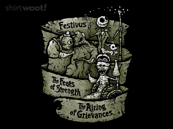 The Nightmare Before Festivus T Shirt