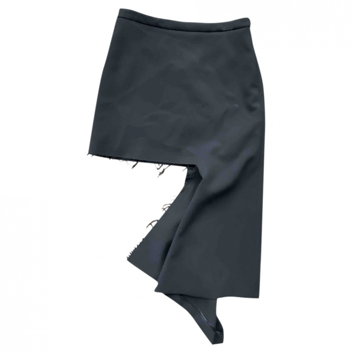 Balenciaga \N Black Wool skirt for Women 36 FR