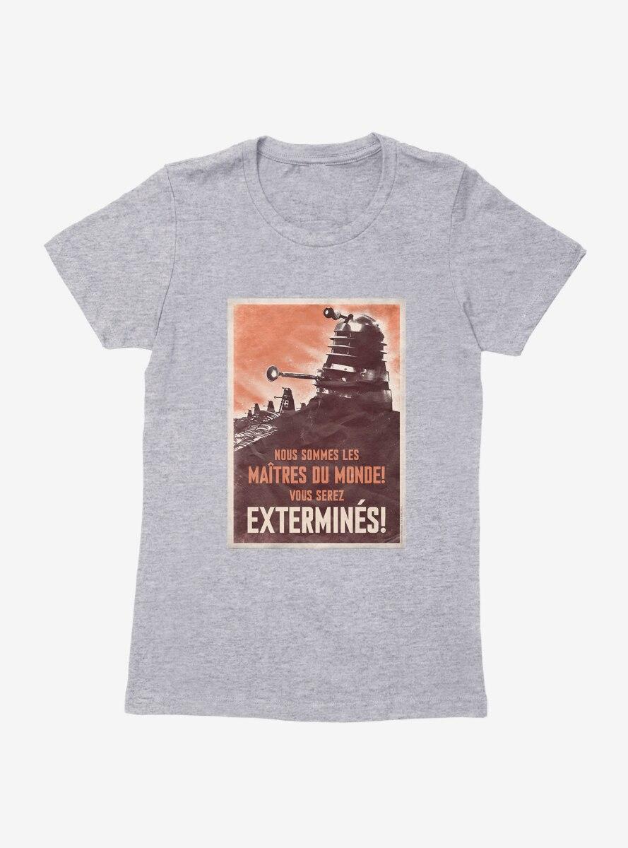 Doctor Who French Propaganda Womens T-Shirt