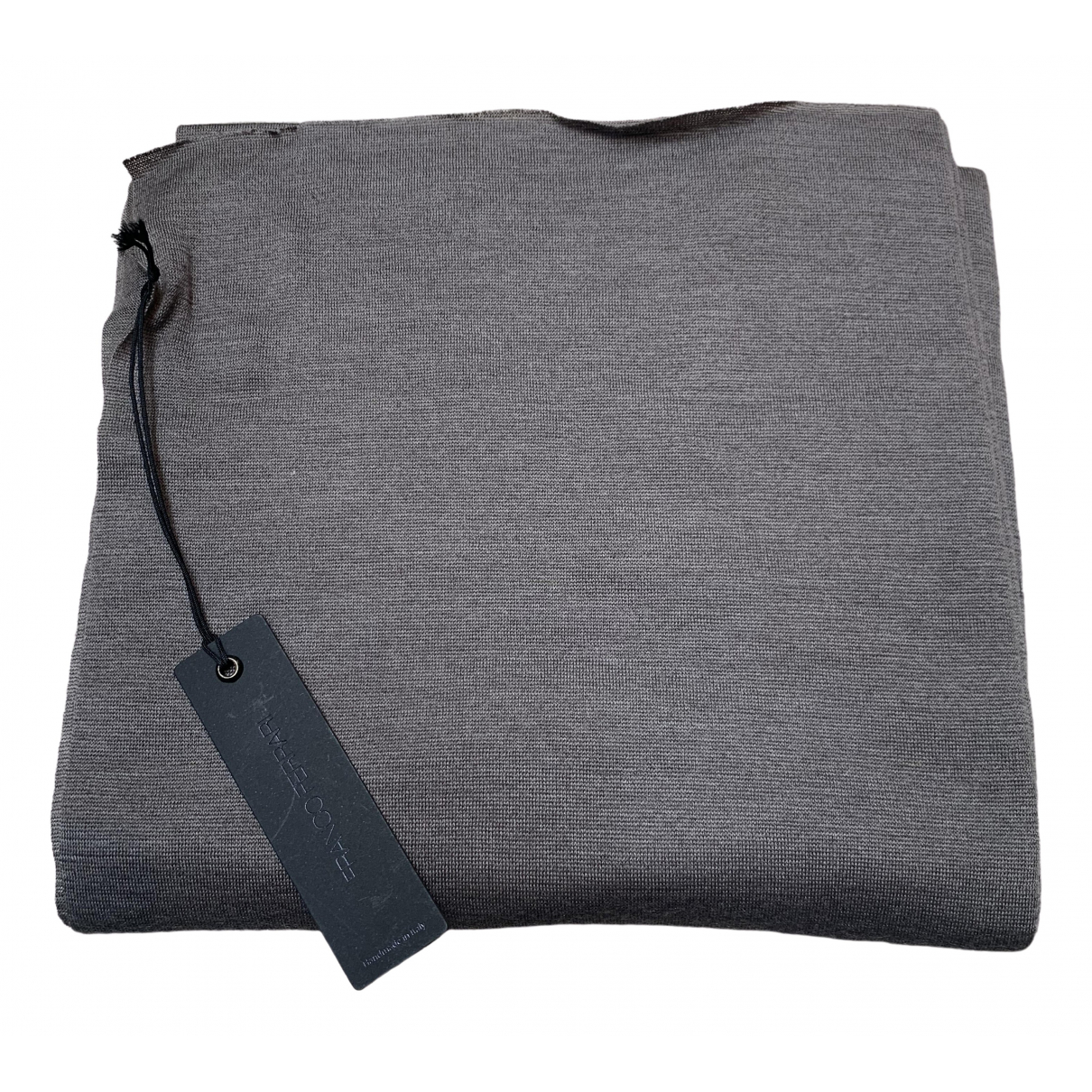 Franco Ferrari \N Khaki Cashmere scarf & pocket squares for Men \N