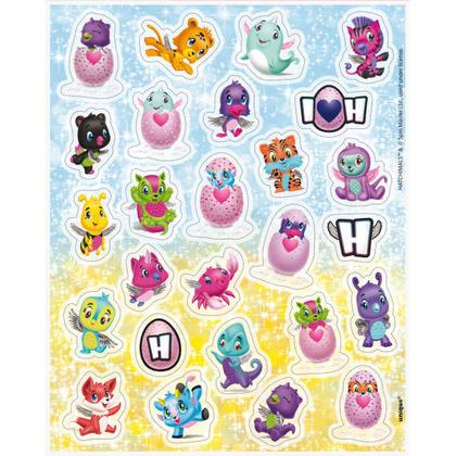 Hatchimals 4 Sticker Sheets/Favors Pour la fête d'anniversaire