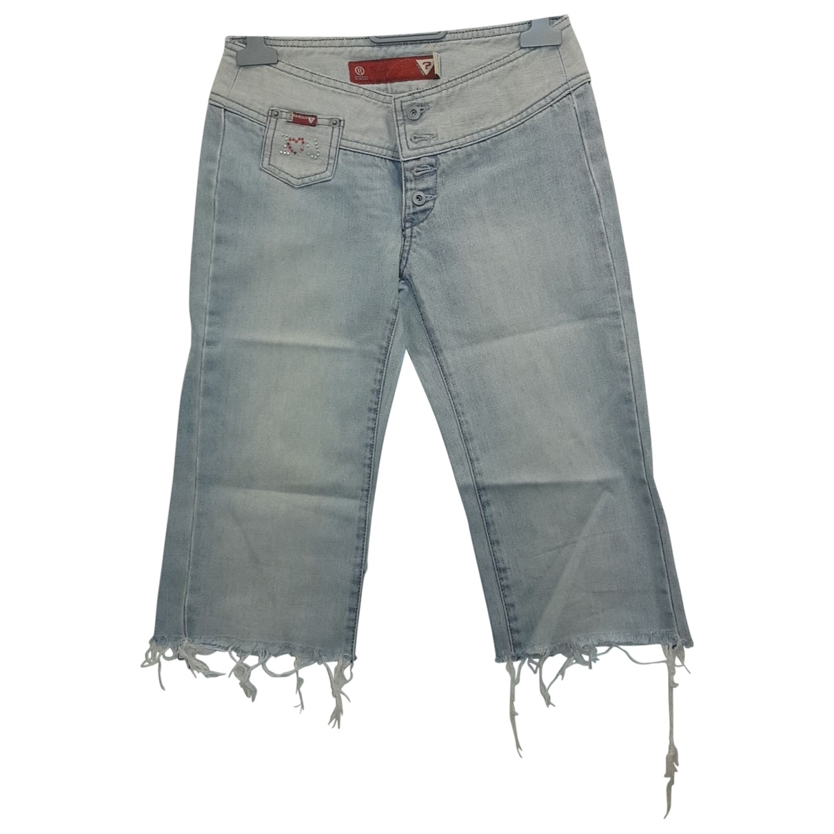 Guess \N Blue Cotton Jeans for Women 24 US