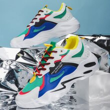 Men Color Block Sneakers