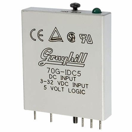 Grayhill 70-IDC Series , 32V Interface Relay Module, PCB Pin Terminal , PCB Mount