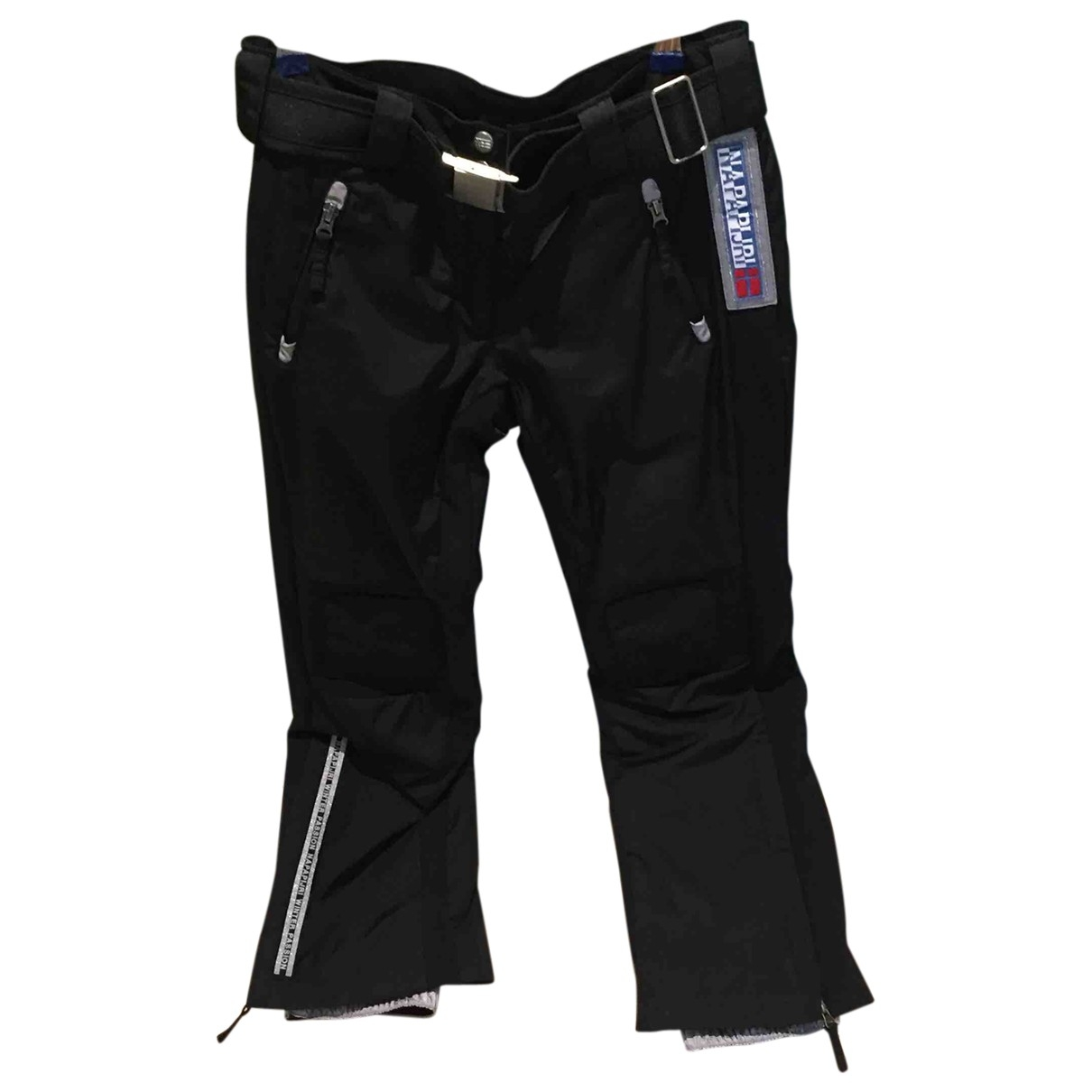 Napapijri \N Black Trousers for Women 38 FR