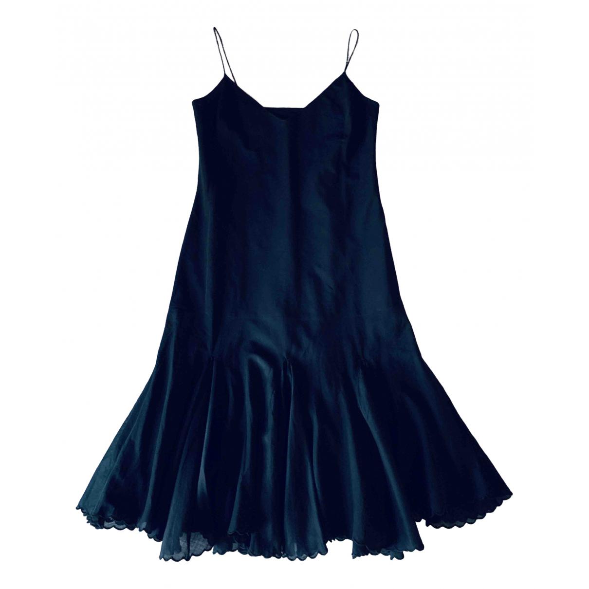 Non Signé / Unsigned \N Black Cotton dress for Women M International