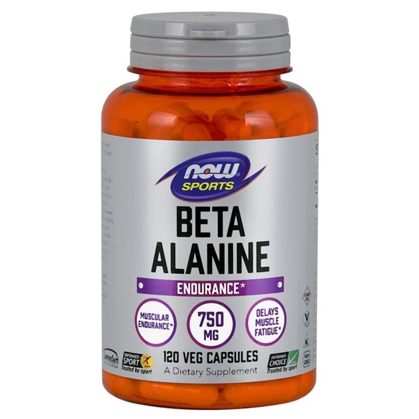 Beta Alanine 120 Caps by Now Foods