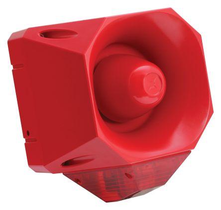 Fulleon Asserta Maxi Sounder Beacon 110dB, Red LED, 230 V ac, IP66