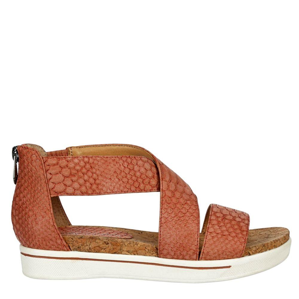 Adrienne Vittadini Womens Claud Platform Sandal
