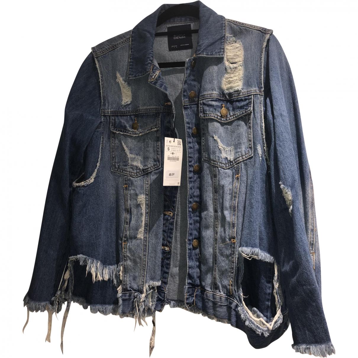 Zara \N Blue Denim - Jeans jacket for Women S International