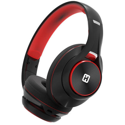 iHome@ iB90 Bluetooth Rechargeable Headphones With Mic & Remote (IB90V2, IB90V2BRC)
