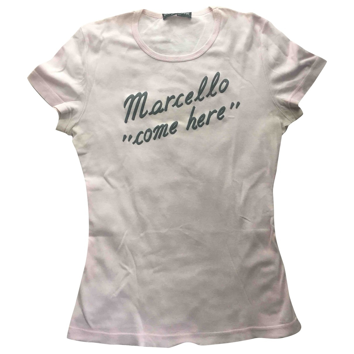 Dolce & Gabbana \N Pink Cotton  top for Women 42 IT
