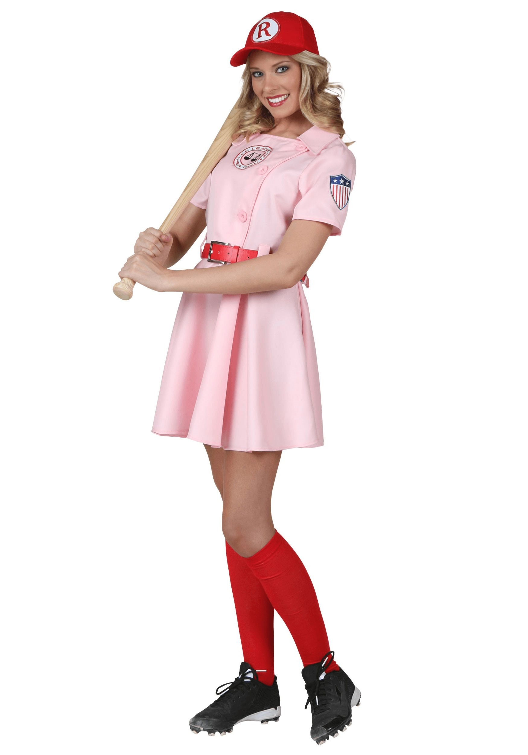 Womens A League of Their Own Dottie Costume | baseball costume