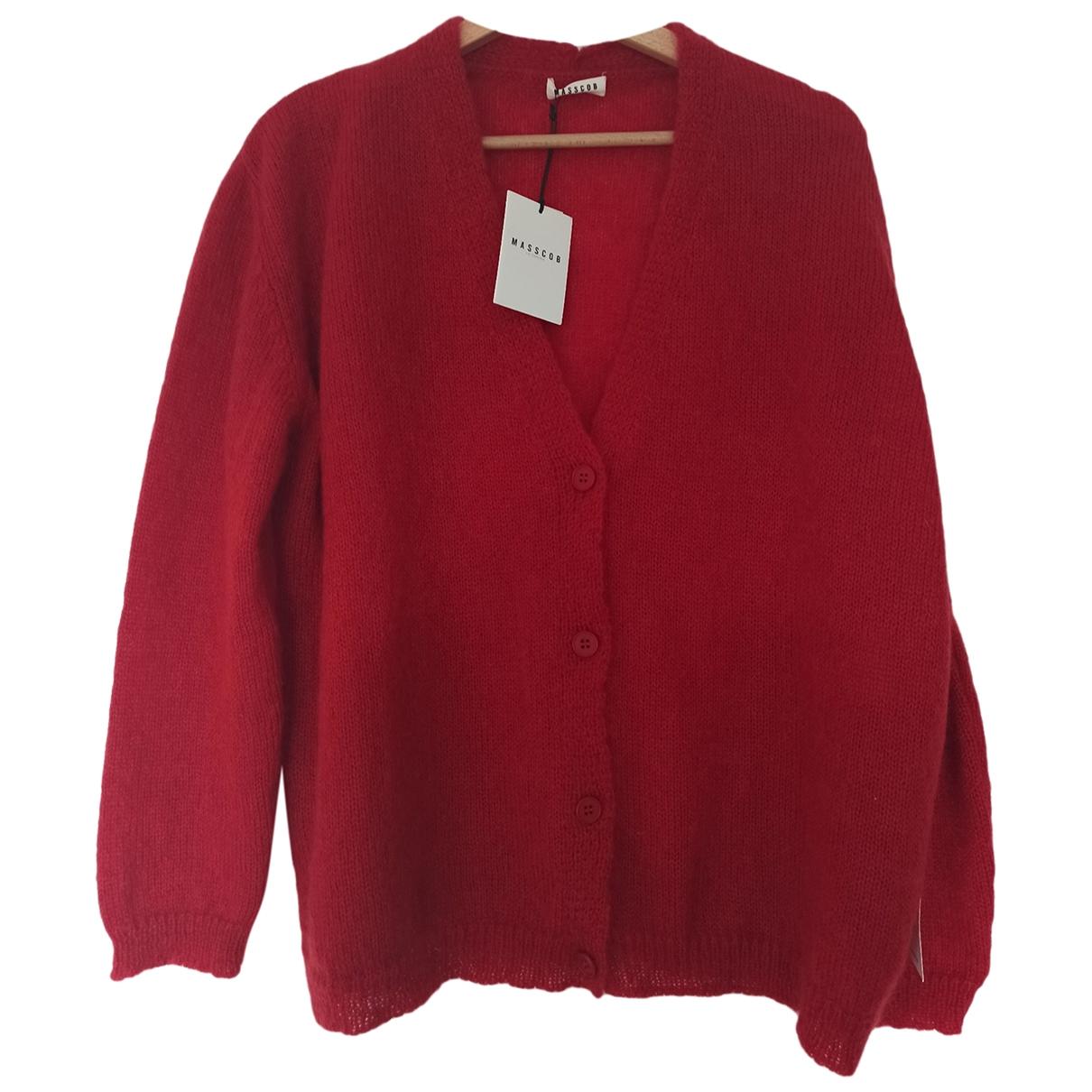 Masscob \N Red Wool Knitwear for Women M International