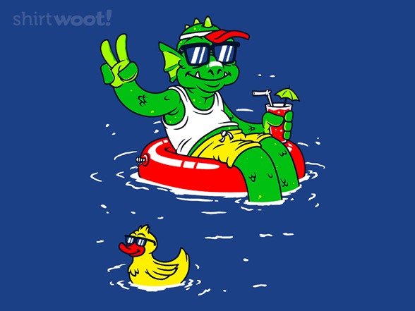Creature From The Cool Lagoon T Shirt