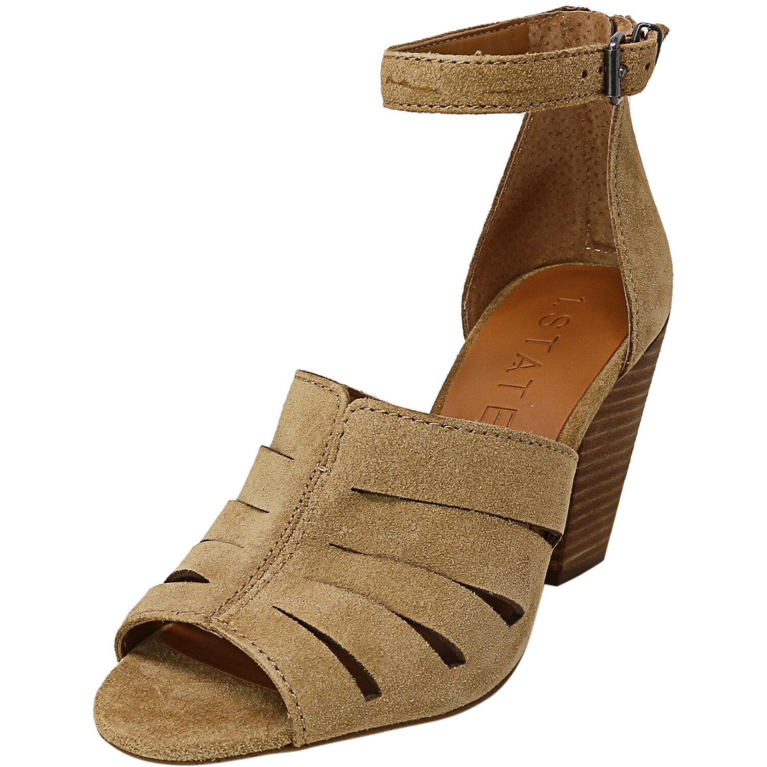 1.State Women's Nallay Desert Ankle-High Leather Heel - 6M