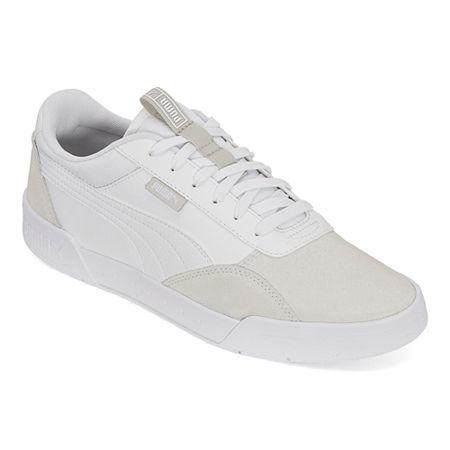 Puma C-Skate Mens Skate Shoes, 11 1/2 Medium, White