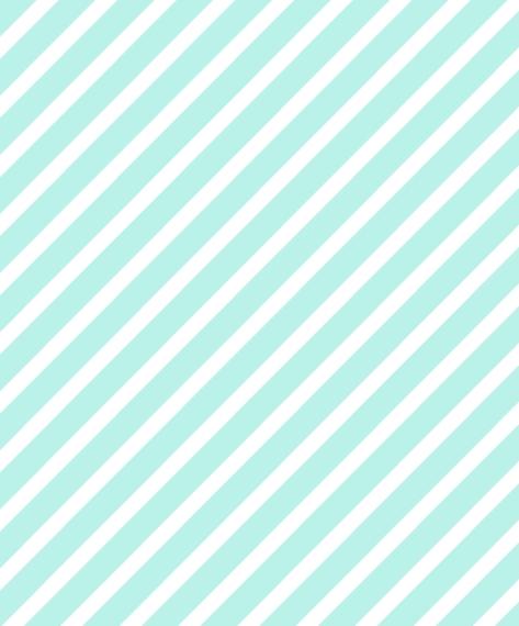 Non Photo Canvas Print, 16x20, Home Décor -Aqua Stripes