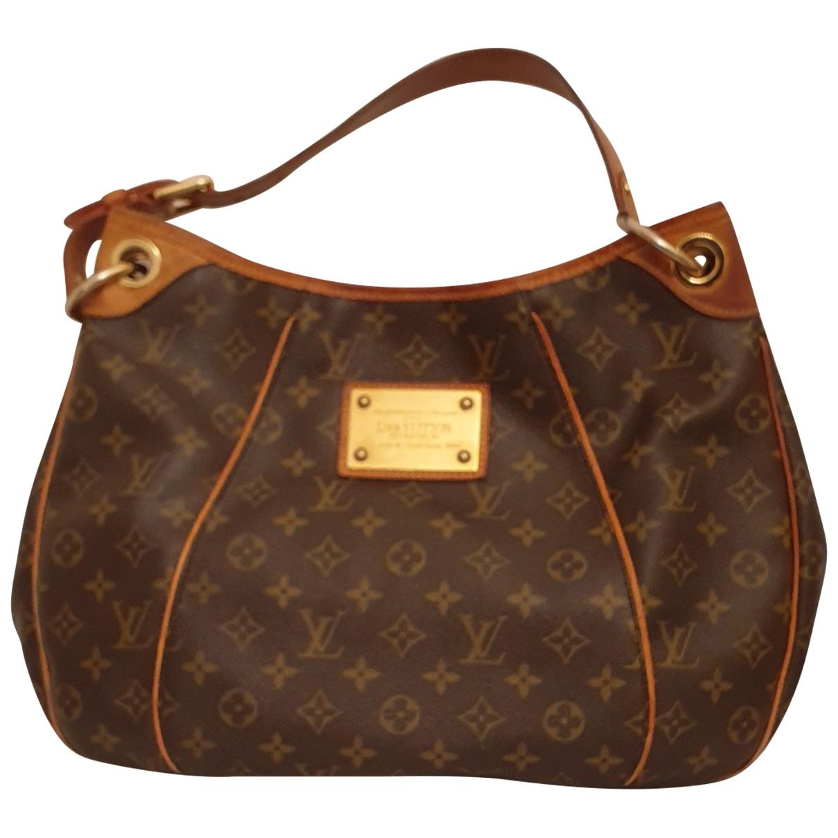Louis Vuitton Galliera Brown Cloth handbag for Women \N