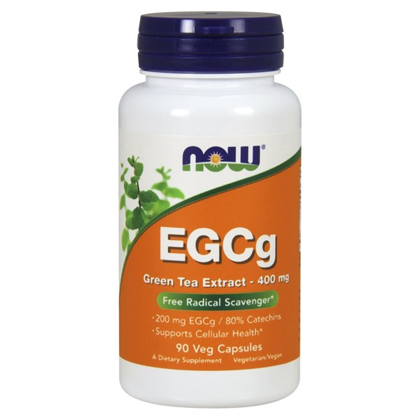 EGCg Green Tea Extract 90 Veg Caps by Now Foods