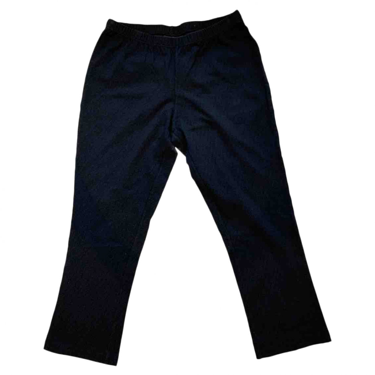 Fendi \N Anthracite Cotton Trousers for Kids 12 years - XS FR
