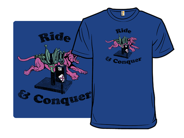 Ride & Conquer T Shirt