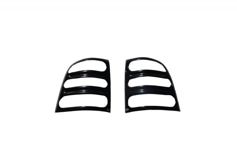 AVS 36801 Slots Tail Light Covers - Black Ford F-150 Flareside 1997-2003