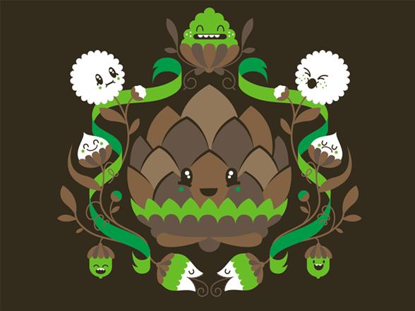 Leafflower T Shirt