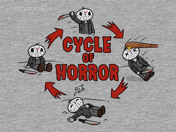 Cycle Of Horror T Shirt